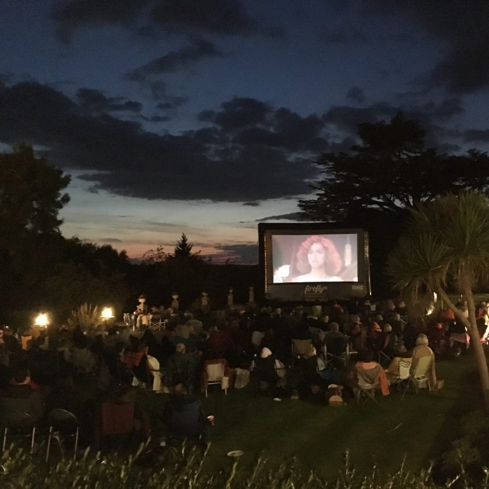 outdoor cinema firefly events