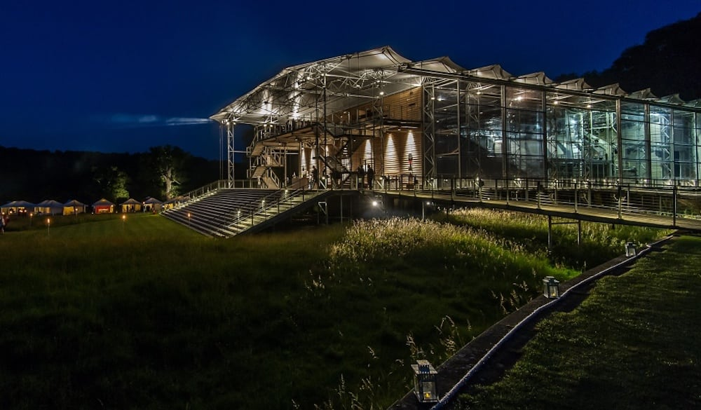 garsington exterior night