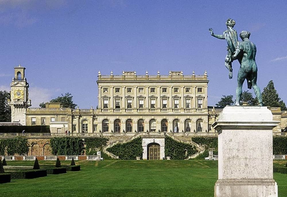 cliveden statue house