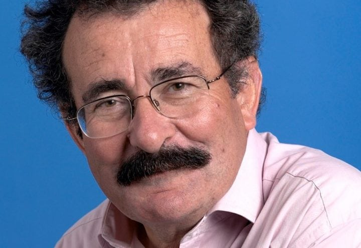 robert winston man smiling glasses