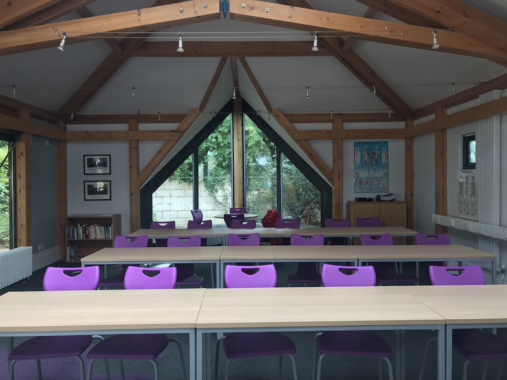 Classroom at Bloxham school