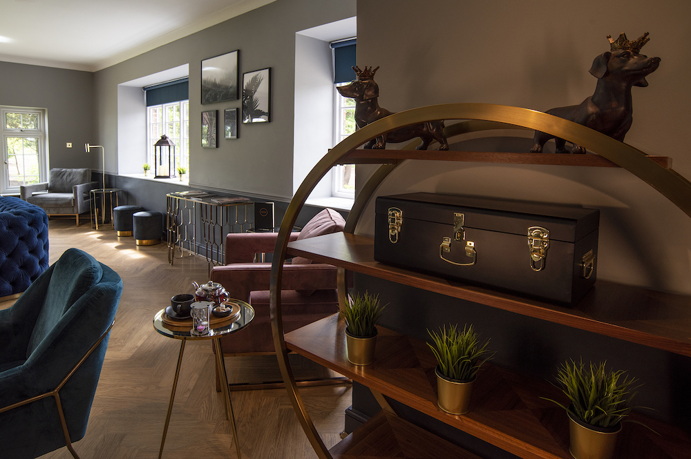 Communal spaces at Chesterton Hotel