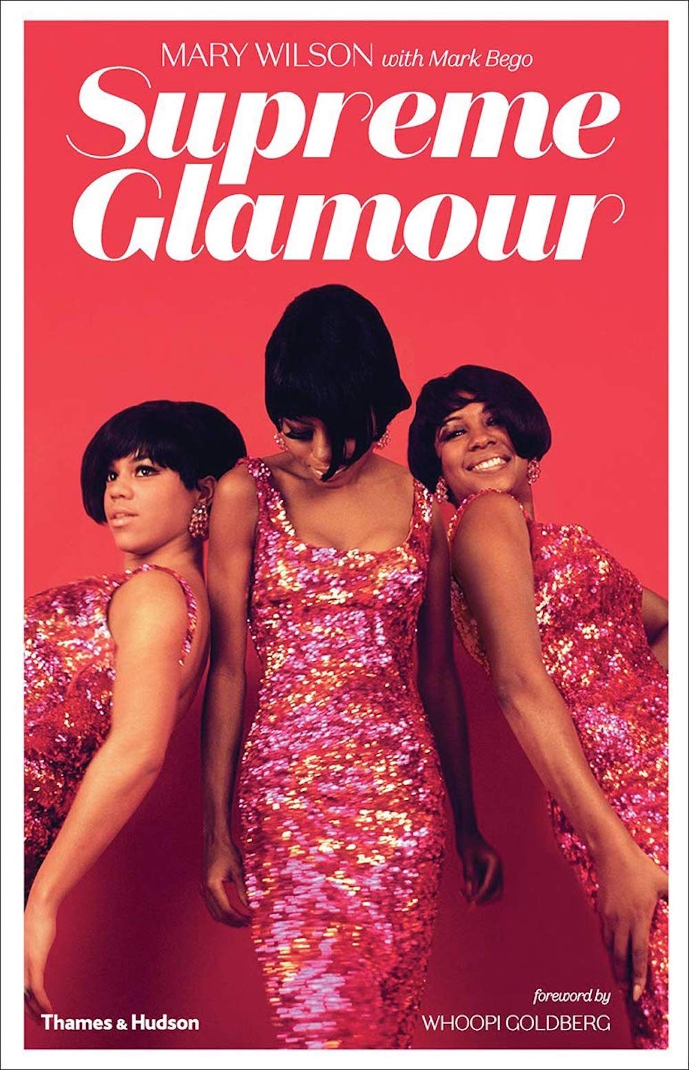 supreme glamour book front cover