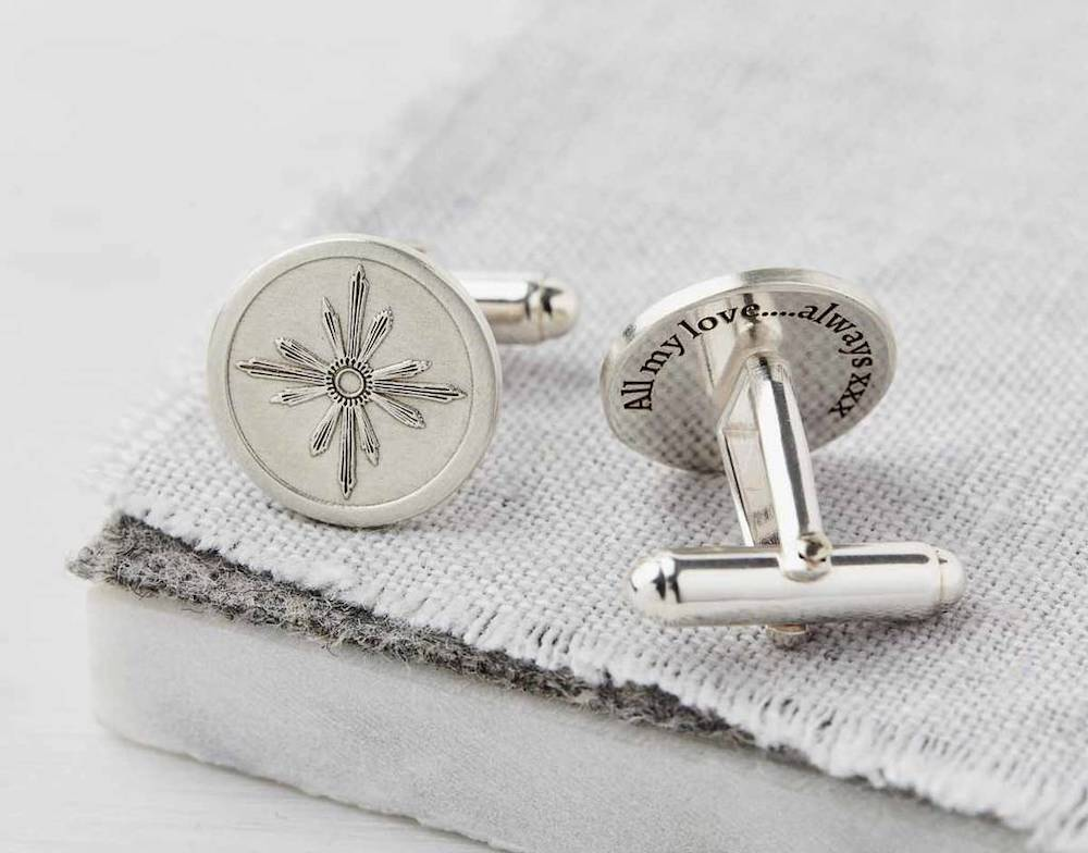 Sally Clay cufflinks