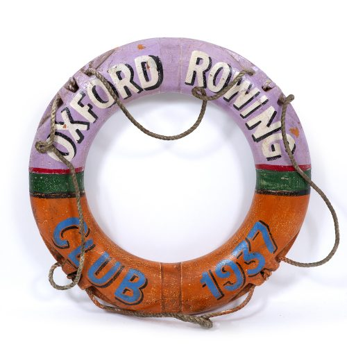 Oxford Rowing Club life preserver