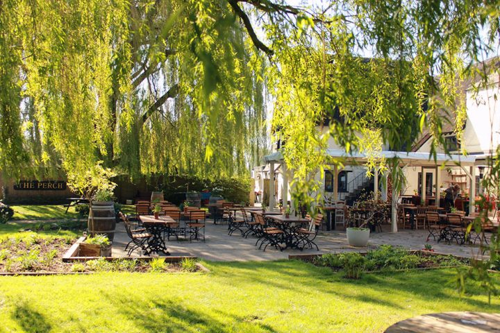The Perch pub garden