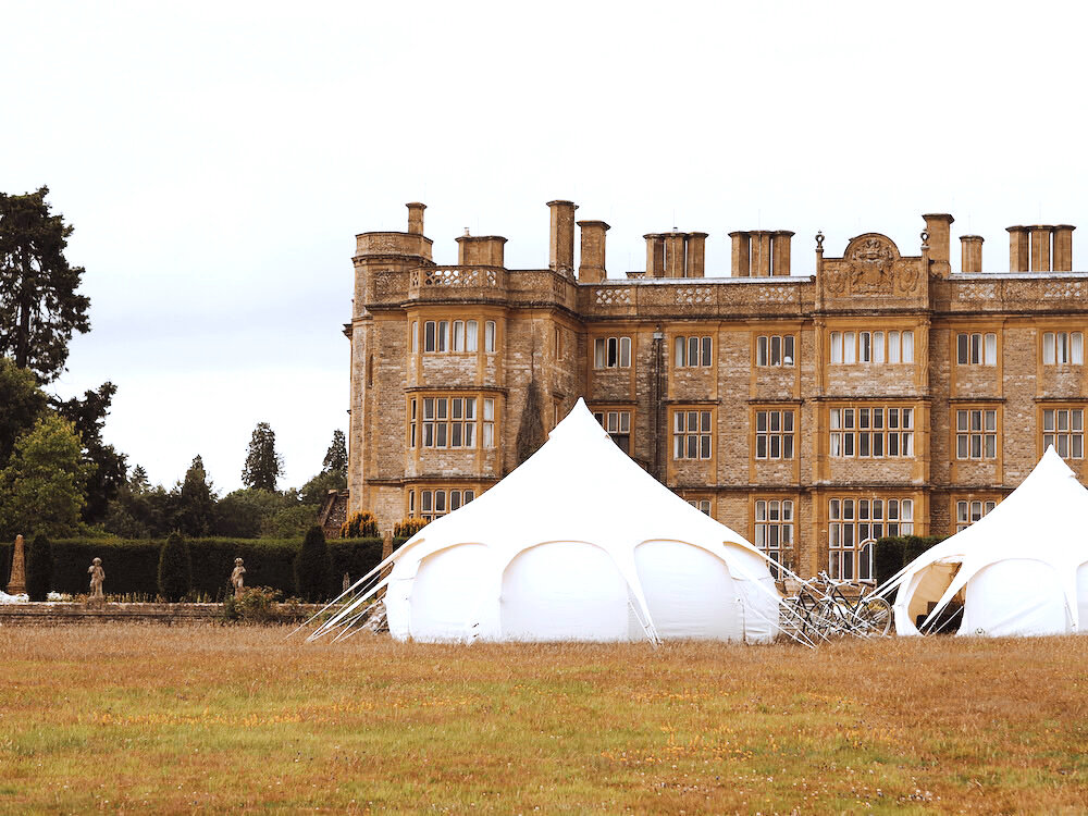Camp Hox Pop Up Eynsham Hall Oxfordshire