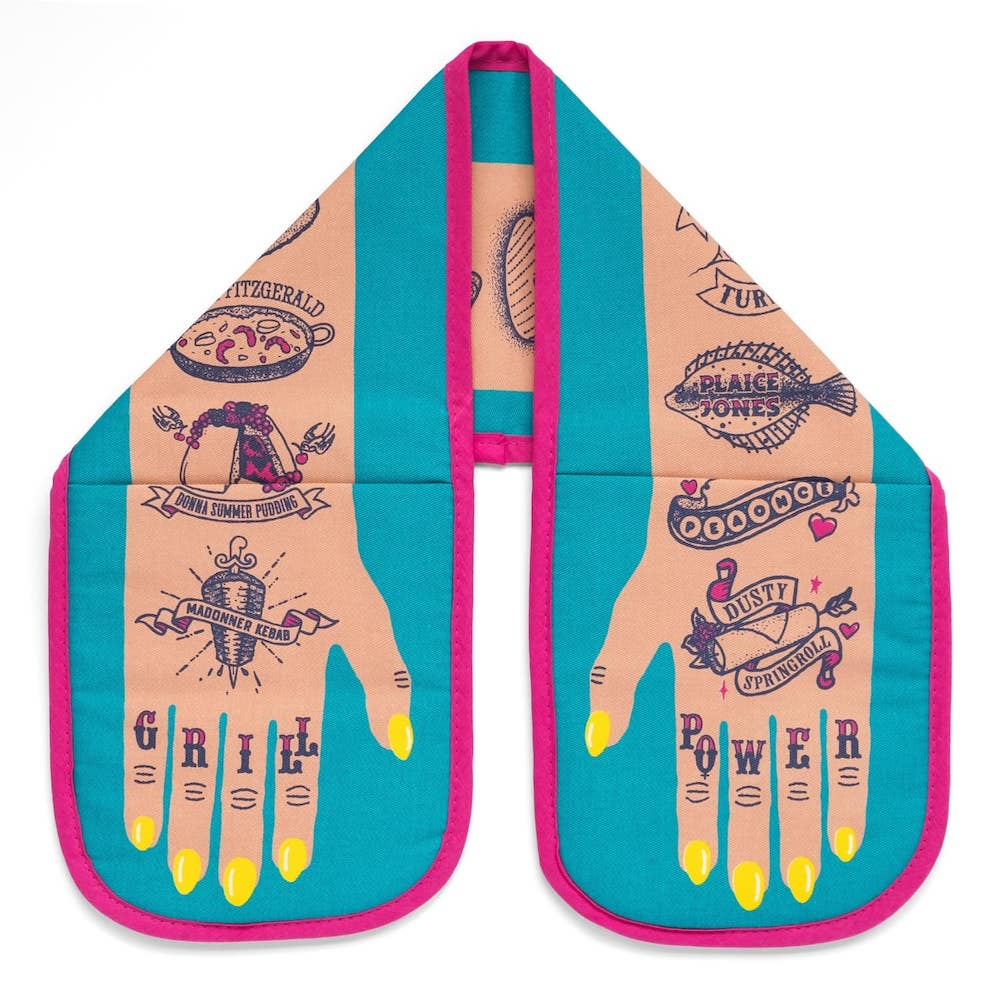 Grill power oven gloves