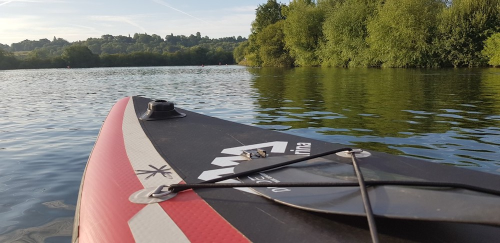 Paddle boarding Marlow
