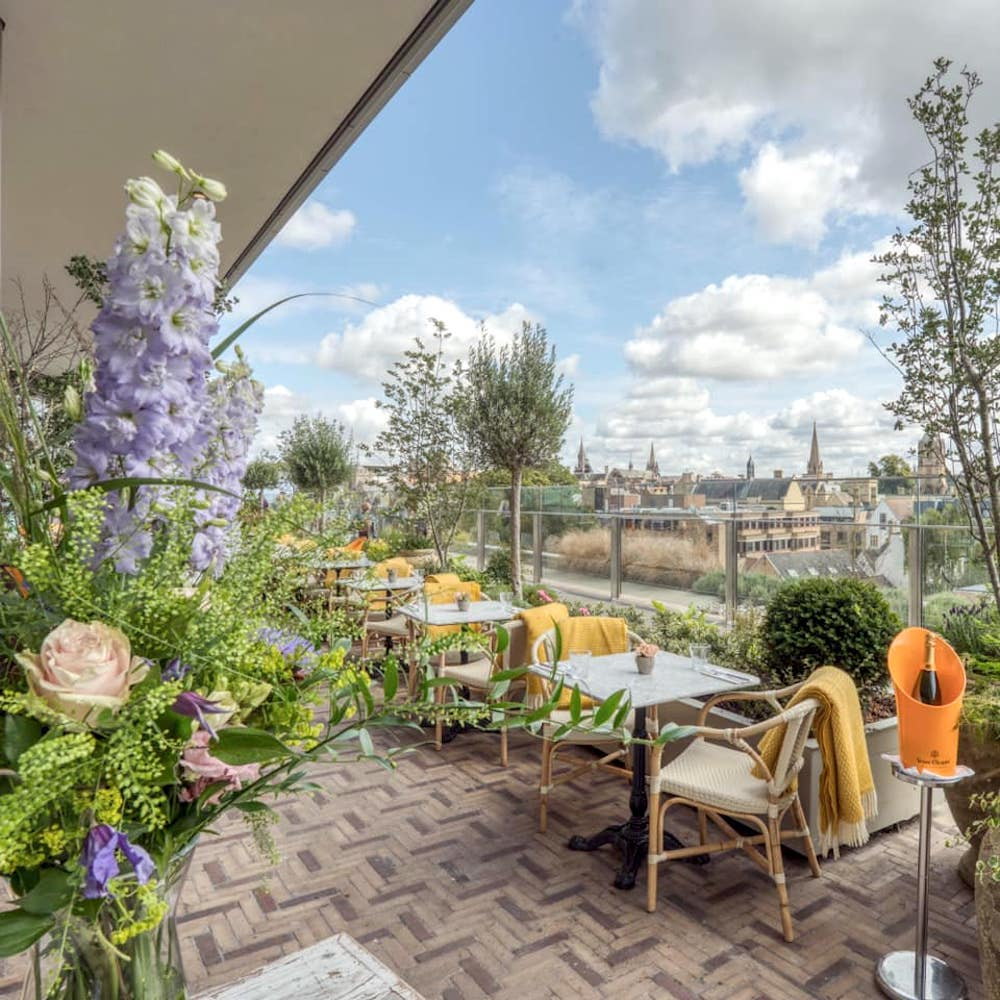 Victor's Westgate roof terrace