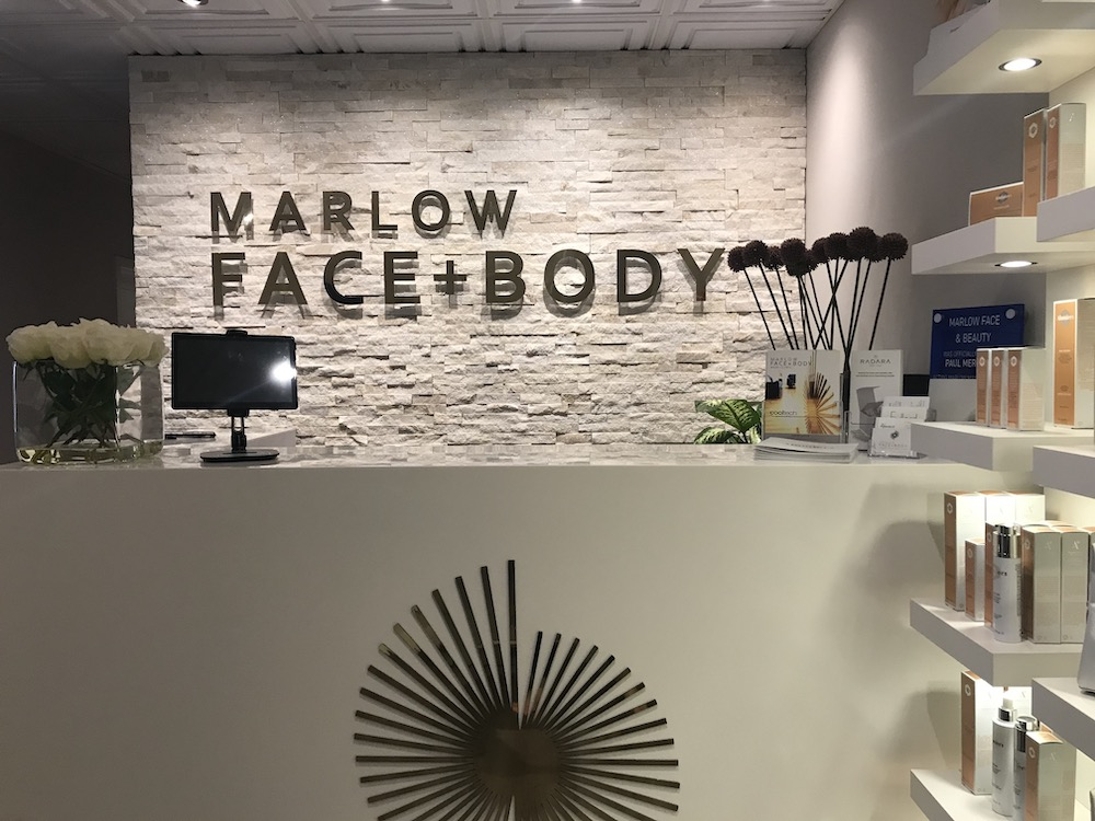 Marlow Face and Body reception