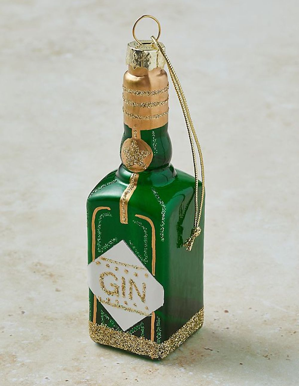 Anthropologie gin bauble