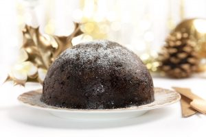 Espresso Christmas pudding
