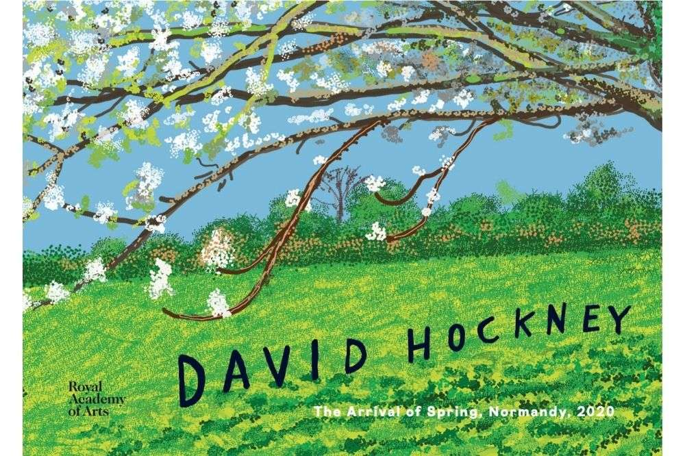 David Hockney: The Arrival of Spring, Normandy