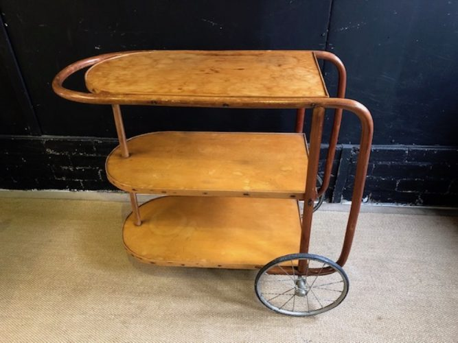 antique drinks trolley